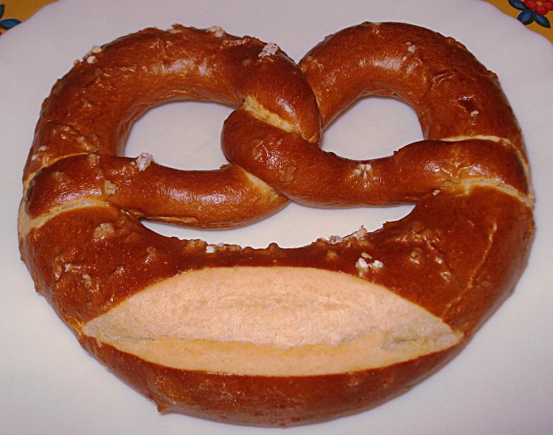 Bretzel Le bretzel est un pain