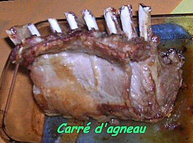 Dictionnaire De Cuisine Et Gastronomie Carre D Agneau