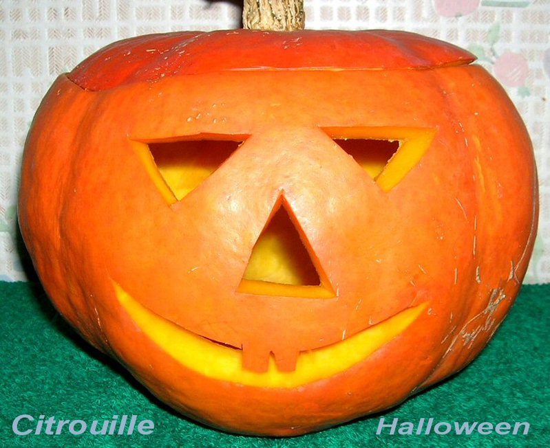 Photo citrouille - Image de citrouille d halloween ...