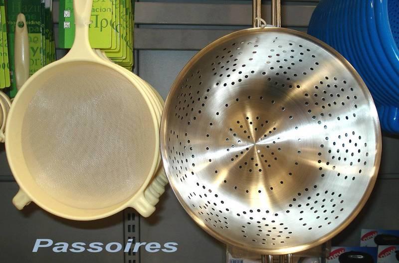 Dictionnaire de cuisine et gastronomie passoire - Dictionnaire de la cuisine ...
